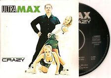 ULTRAMAX - crazy CD SINGLE 2TR Eurodance 1999 RARE!!