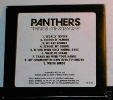 Panthers Things Are Strange ADVANCE PROMO cd promotional