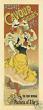Vintage Advertising Print for Frossards Cavour Cigars