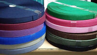 1m. Flat Elastic Very Strong for shoes/bags-etc.width-20mm(Approx) - 12-Colours