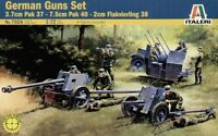 ITALERI 1/72 Seconda Guerra Mondiale tedesco PISTOLE SET WITH 8 Personaggi #7026