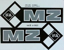 MZ IFA FUEL TANK STICKER SET- GRAY