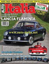 Auto Italia Magazine issue 258 Lancia Flaminia Abarth Zagato Ferrari 275 tipo 33