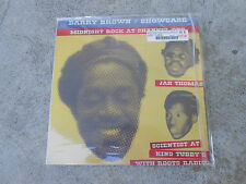BARRY BROWN-SHOWCASE-JAH THOMAS-MIDNIGHT ROCK AT CHANNEL ONE-LP-IMP-ABRAHAM-NM