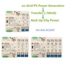 Automatic Transfer Switch Din Rail 4p 63a 220v Ats Pv System City Solar Power