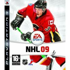 PS3 NHL09 NHL 09 Ice hockey game English game Danish packaging