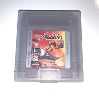 Disney's Aladdin Nintendo Original GameBoy Game - Tested Working & Authentic!