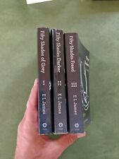 FIFTY 50 SHADES OF GREY BOOK TRILOGY SET 1 2 3 Paperback