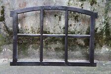 Gussfenster schwarz Stallfenster mit Bogen 56x42 FeN1100s