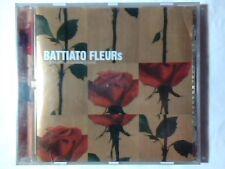 FRANCO BATTIATO Fleurs cd FABRIZIO DE ANDRE' ROLLING STONES  SERGIO ENDRIGO
