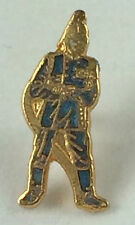 Uniformed Small Fireman with Hose Quality enamel lapel pin badge