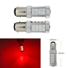 1157 2057 2397 3496 7528 BAY15D P21/5W 92 LED Red Bulb Brake Light B1 #1