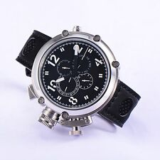 50mm Parnis Automatic Men's Watch Date Month Display Cool Boys Wristwatch Gift