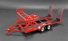 GMP 1 18 So-cal Speed Shop Tandem Car Trailer W/ Tire Rack Model Car Red 18907
