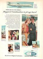 1965 Original Advertising' SAS Scandinavian Airlines System Company Carave