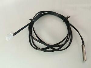1 x Temperatur Fühler NTC 10K 1% wasserdicht 1m,  2 wires Arduino
