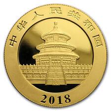 2018 China 15 gram Gold Panda BU (Sealed) - SKU#152621