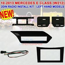 2010 - 13 MERCEDES E CLASS (W212) 2DIN CAR STEREO DASH KIT LEFT HAND DRIVE ONLY