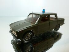 MEBETOYS A-3 ALFA ROMEO GIULIA TI CARBINIERI -  1:42 RARE - VERY GOOD CONDITION