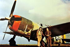 COLOR Photo USAAF P-47 Thunderbolt Fighter  WW2 Photo WWII  / 5147