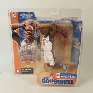 McFarlane Latrell Sprewell New York Knicks NBA Series 3 Action Figure 2003