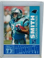 2007 TX EXCLUSIVE STEVE SMITH FW-SS FRANCHISE WINNING TICKET GOLD 24/25 PANTHERS