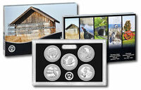 2015 S America the Beautiful National Parks ~ Mint Silver Proof Set in the Box