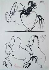PABLO PICASSO 1960'S TOROS Y TOREROS PRINT HAND SIGNED  + NO RESERVE !