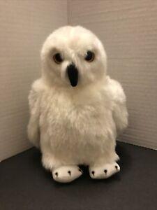 "Harry Potter Owl Plush Stuffed Animal Hedwig 8"" White  Platform 9 And 3/4s NWT"