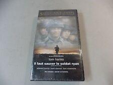 CASETE VHS / IL FAUT SAUVER AL SOLDADO RYAN/ NUEVA Y LLENA DE