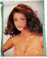 Rare Vintage Bollywood Poster - Aishwarya Rai - 16 inch X 21 inch