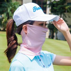 PGM Women Golf Sun Neck Face UV Ice Silk Keep Whitening