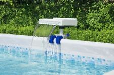 More details for bestway relaxing waterfall cascade for above ground swimming pool with led light