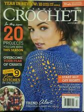 Interweave Crochet Winter 2017 20 Projects You Can Make Stitch FREE SHIPPING sb