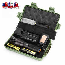 G700 8000LM X800 LED Zoom Military Grade Tactical Flashlight Torch Sets US Stock