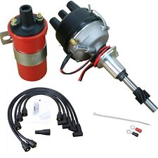 Electronic 8n12127b Side Mount Ignition Distributor Amp Coil Ford 2n 8n 9n Tractor