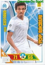 499 LUIZ GUSTAVO OLYMPIQUE MARSEILLE OM CARTE TOP RECRUE ADRENALYN 2018 PANINI