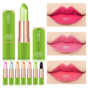 Aloe Vera Lipstick Lip Balm Colour Changing Long Lasting Moisturizing UK