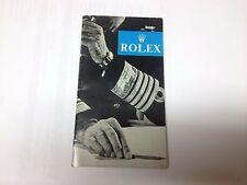 Rolex & Tudor Libretto 1958 V RARO.