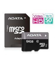 NEW Adata 64GB Memory Card Ultra Fast MicroSD GO PRO HD HERO 3 CAMCORDER