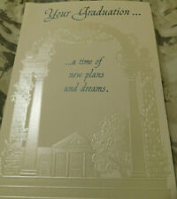 """Your Graduation...   ...a time of new plans and dreams."" Greeting Card"