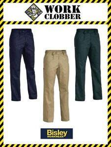 Bisley Original Cotton Drill Work Pant BP6007 *PRICE DROPPED* NEW WITH TAGS!