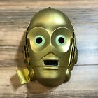 Vintage 1978 STAR WARS C-3PO Droid Costume Face Mask Original Made In France
