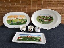 Villeroy Boch Naif Ramekins Oval Lasagne Baker Oval Tray Sandwich Tray Box