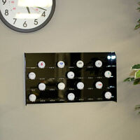 Shadow Box Wall Cabinet To Hold 110 Golf Balls Display W