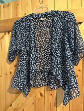 Gorgeous Navy Blue Flower Summer Bolero Cardigan Age 8 Years Height 128cm 28""