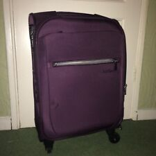 Antler Marcus Soft 4 Wheel Expandable Small Suitcase Purple