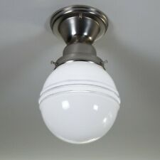 Semi-Flush Ceiling Light Fixture Vintage Deco Shade New Fixture Base