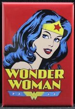 "Wonder Woman 2"" X 3"" Fridge / Locker Magnet. Justice League Superman Batman"