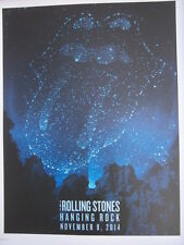 Rolling Stones poster Hanging Rock  lithograph   14 on FireTour LITHO australia
